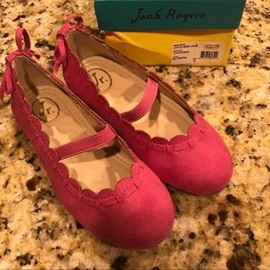 Jack Rogers size 10 Little Miss Lucile Never worn